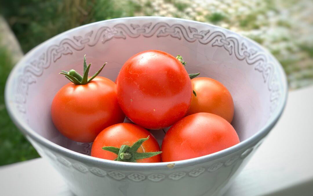 Tomatlycka med smak av umami